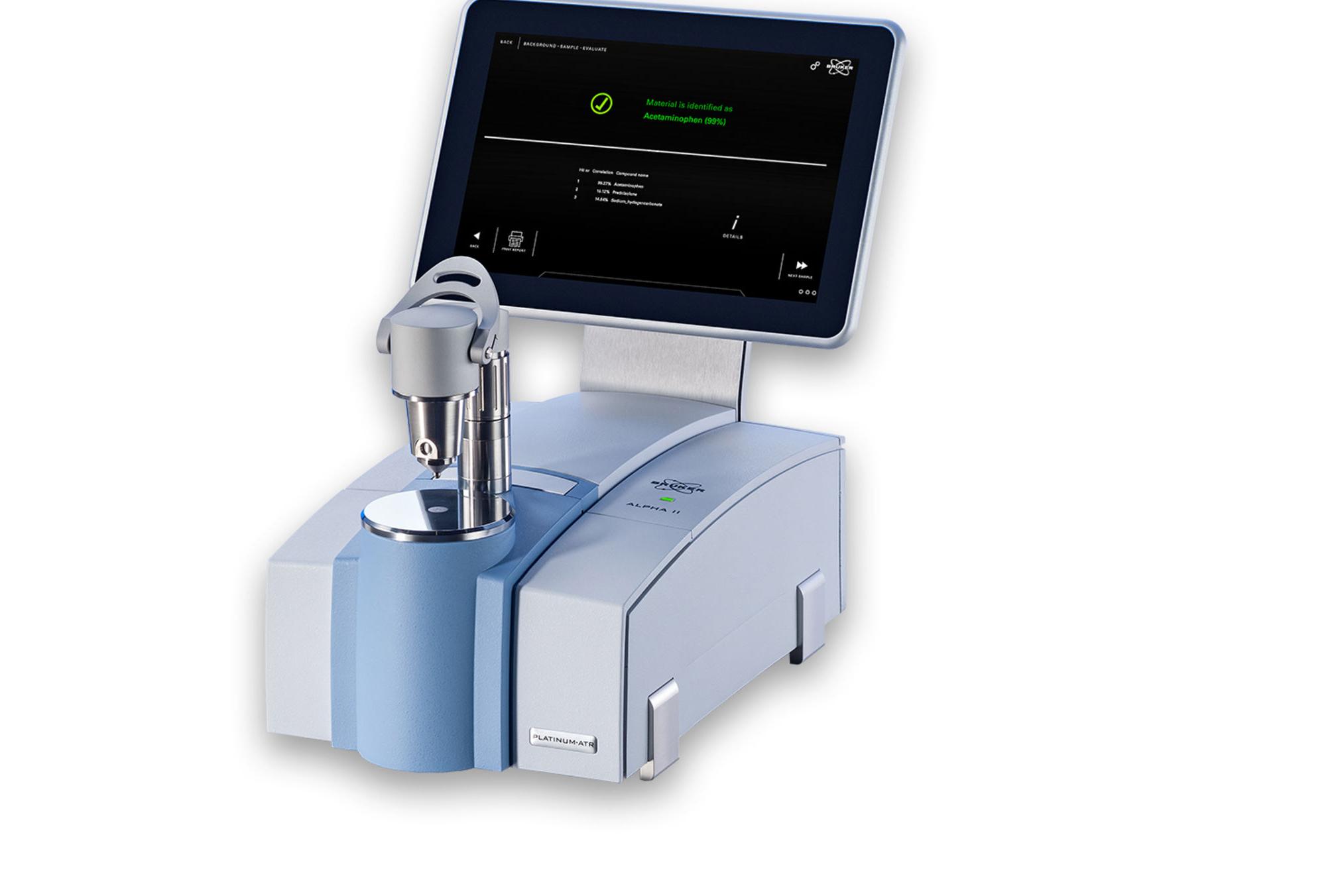 ALPHA II 新一代FTIR红外光谱仪