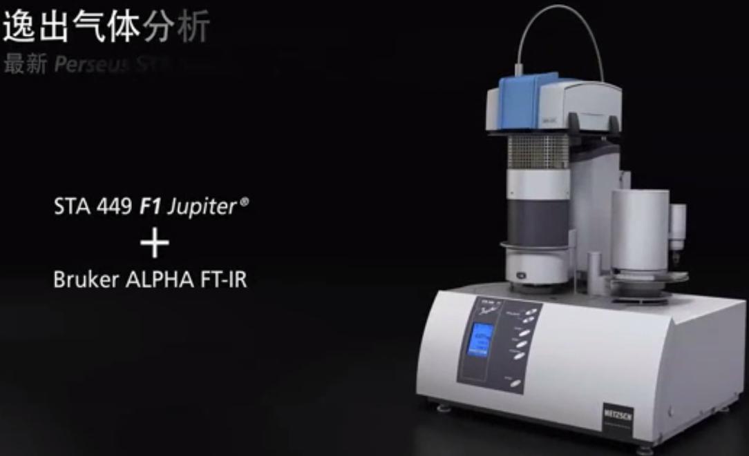 热红联用技术|最新的STA+FTIR逸出气体分析系统
